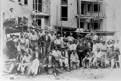 Construction du Grand Hôtel de Renens