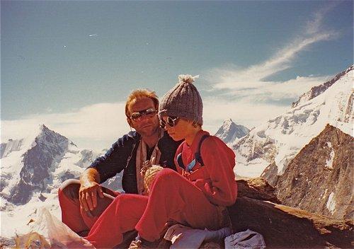 La montagne et l'enfant