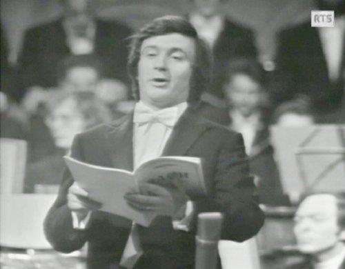 Michel BRODARD, «Magnificat de Bach - Michel Corboz», 2 mars 1973, Cathédrale de Genève