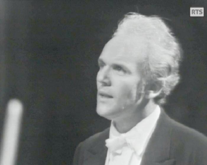 «Messe de Bach - Michel Corboz», 2 mars 1973, Cathédrale de Genève, Radio Télévision Suisse