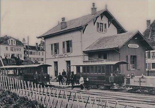 Aubonne gare train