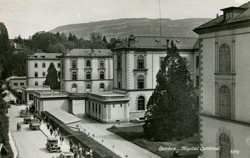 L'ancien hôpital cantonal de Genève
