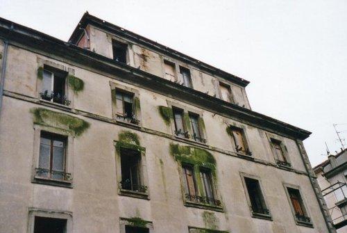 Avant la sur élévation du toit