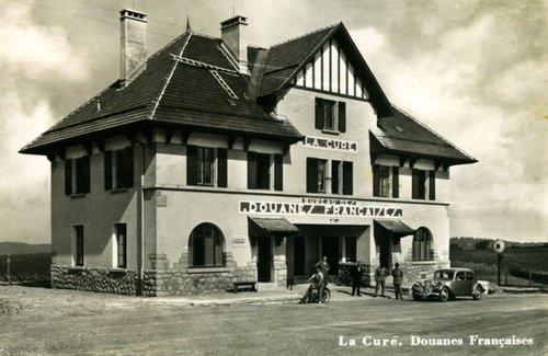 La Cure, la douane française