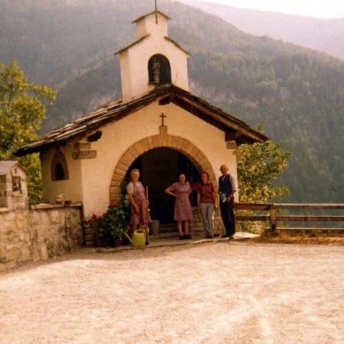 Chapelle des Pontis Anniviers