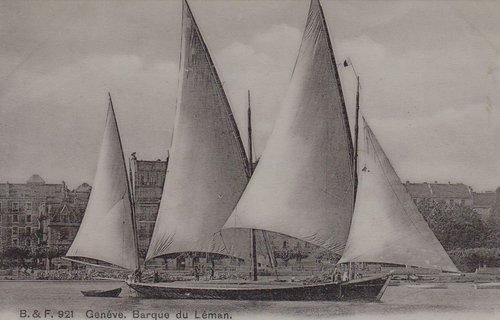 Genève barque du Léman