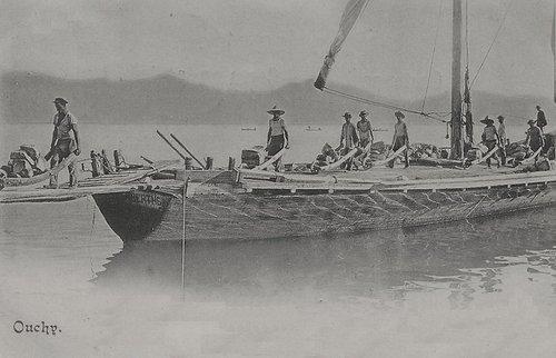 Lausane Ouchy ancienne Barque