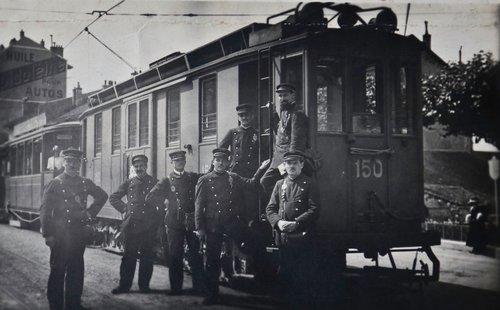 Trams à Genève