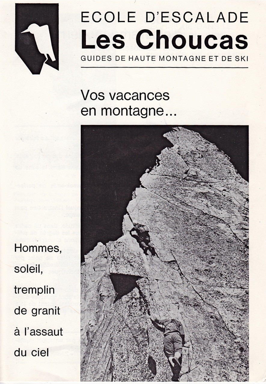 Les Choucas, 1ère salle d'escalade de Suisse