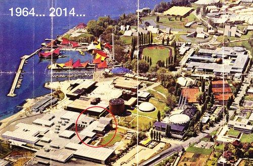 Expo 64, création du Théâtre de Vidy