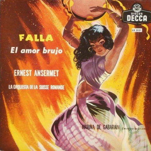 Manuel de FALLA, L'Amour Sorcier, Orchestre de la Suisse Romande, Ernest ANSERMET, octobre 1955, Victoria-Hall, Genève