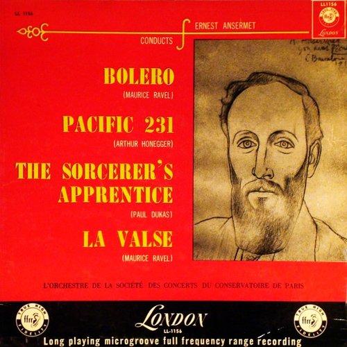 Paul DUKAS, L'apprenti Sorcier, Orch.Soc. Concerts Conservatoire, Ernest ANSERMET, 21.09.1954, Paris