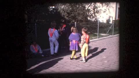 Premier jour d'école 1989