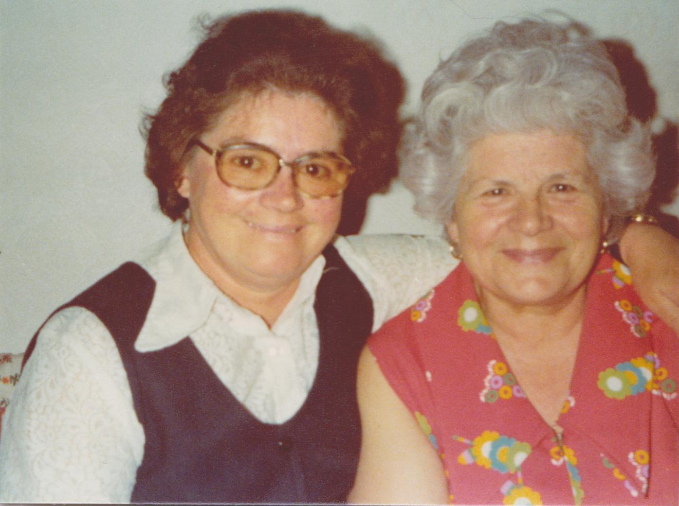 Ma Maman et ma Grand-Maman