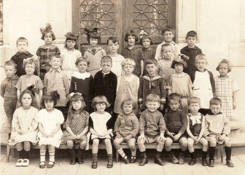 Genève, Jonction, école de la Coulouvrenière, 1926