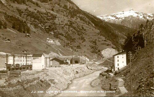 Goppenstein, Lötschberg