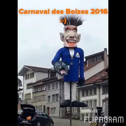 Le 48ème Carnaval des Bolzes 2016 en image