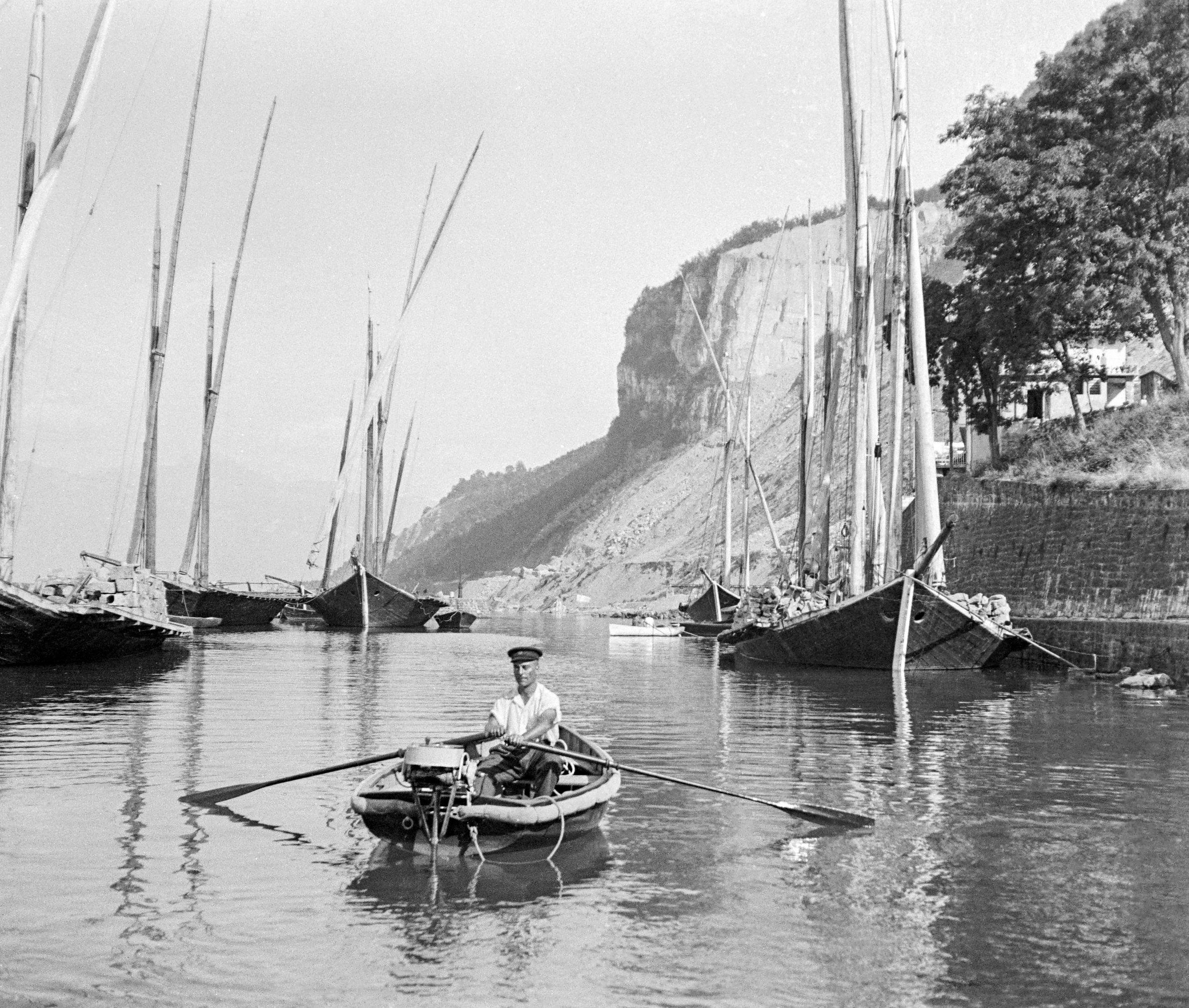 Meillerie, le port et les barques