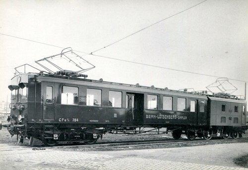 Locomotive BLS, CFe 2/6