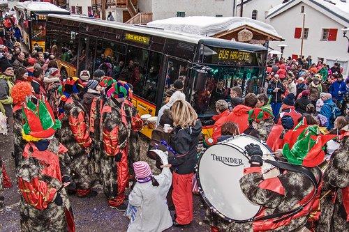 Le carnaval 2014 à Saint-Luc, Anniviers