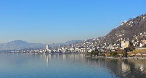 Panorama sur Montreux