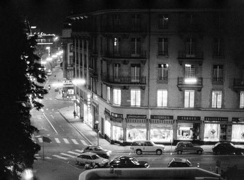 Genève, à l'angle des rues de la Fontaine et du Vieux-Collège