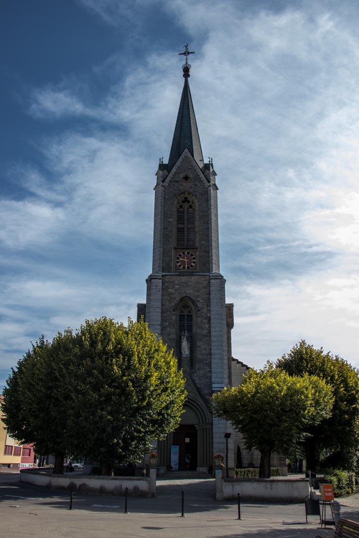 La Tour-de-Trême, messe de l'assomption le 15.08.2017