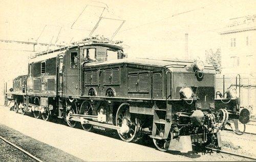 Locomotive crocodile Ce 6/8 III