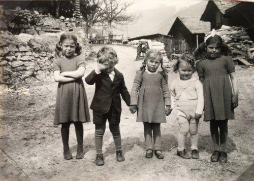 Enfants à Grimentz