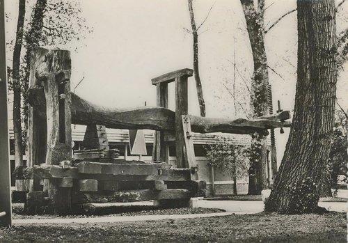 Lausanne exposition 1964 le vieux pressoir