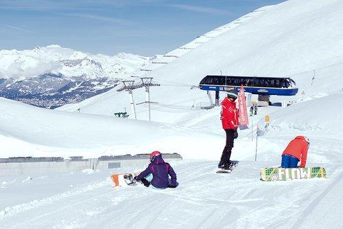 L'école de snowboard