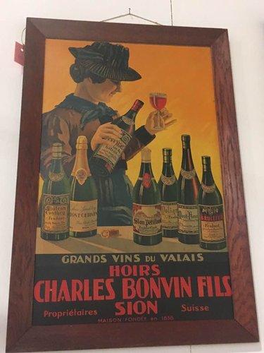 Le bon vin de chez Bonvin