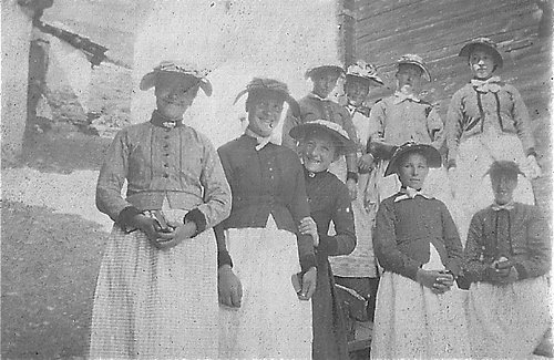 Chandolin-Jeunes filles