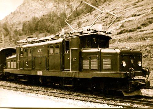 Locomotive du Viège - Zermatt