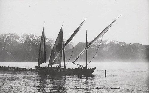 Lac Léman ancienne Barque