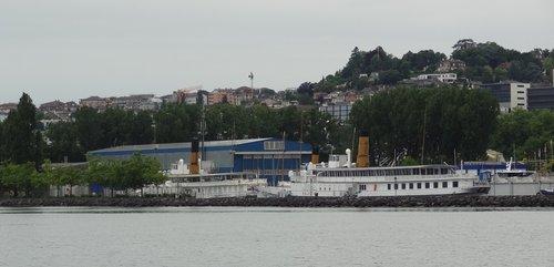Bateau M/S «Helvétie» au chantier CGN