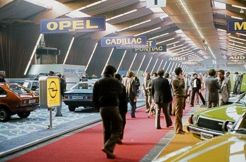 Genève, le Salon de l'Auto 1979
