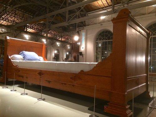 Le lit des Géantes