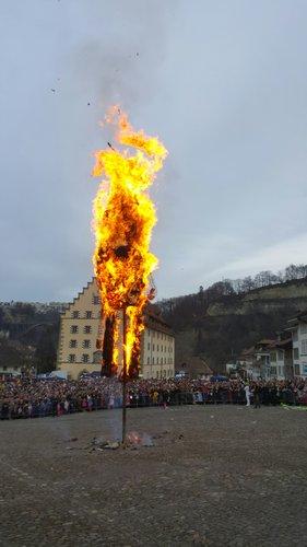 Le Grand Rababou 2017 en feu